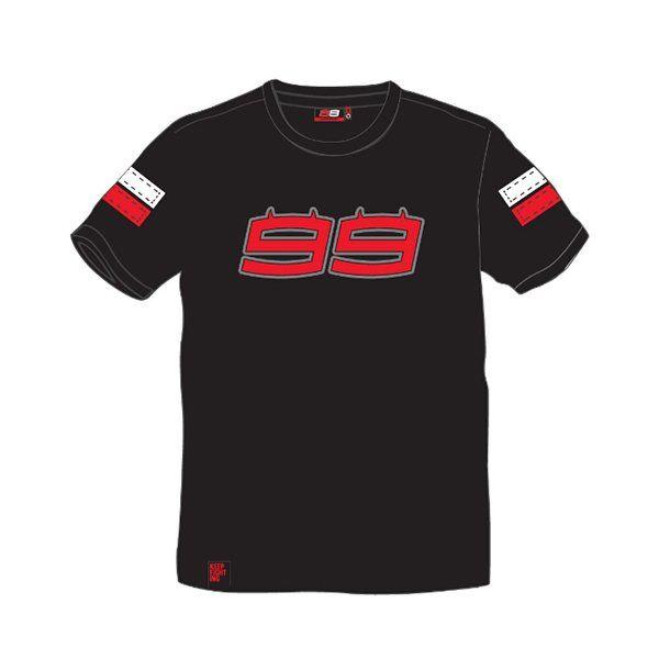 Camiseta Jorge Lorenzo Man Negra