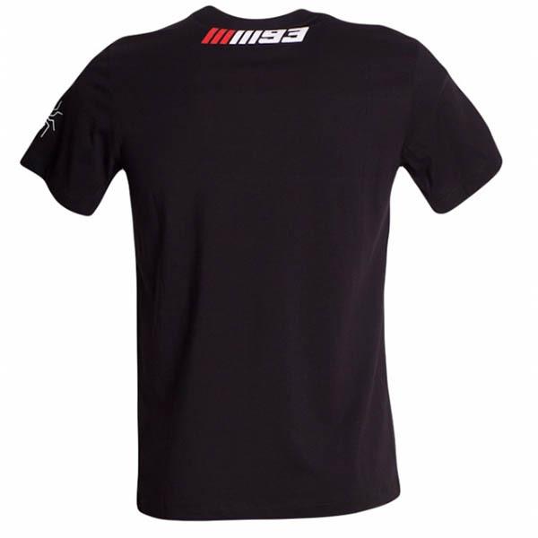 Camiseta Marc Marquez Negra y Roja.
