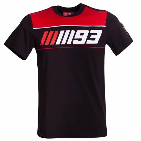 Camiseta Marc Marquez Negra y Roja