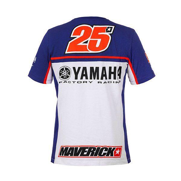 Camiseta Maverick Viñales Yamaha3