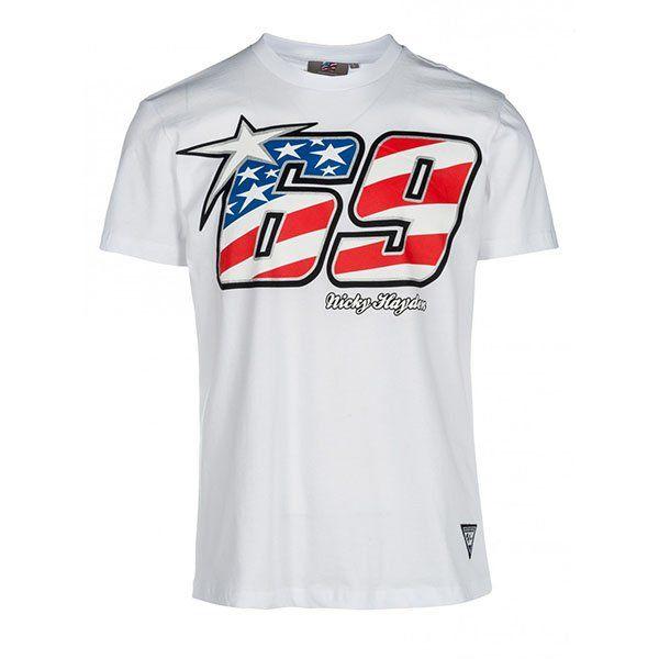 Camiseta Nicky Hayden Blanco