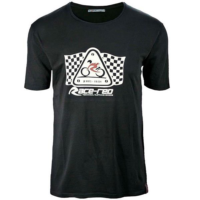 Camiseta Race-Red Flag Negro