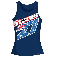 Camiseta Stoner Chica Azul