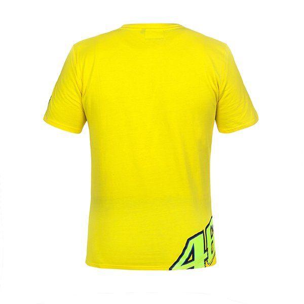 Camiseta VR46 The Doctor 46 Amarilla