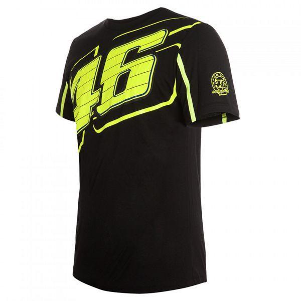 Camiseta Valentino Rossi 46 Negra.