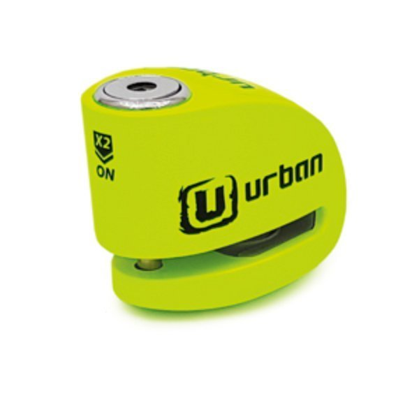 Candado Urban Disc Lock 6mm Amarillo