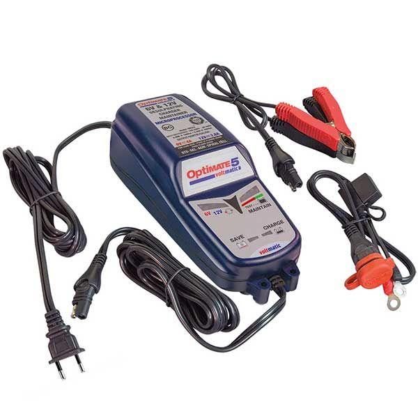 Cargador de baterias Optimate 5 Voltamtic