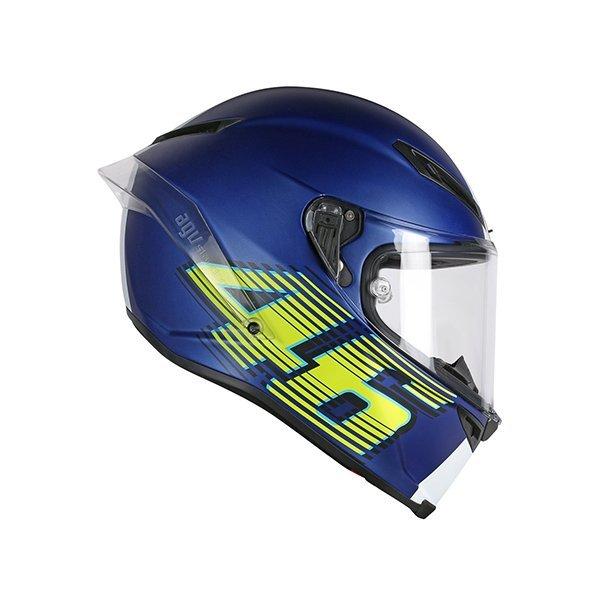 Casco AGV Corsa R Top V46 Azul Mate2