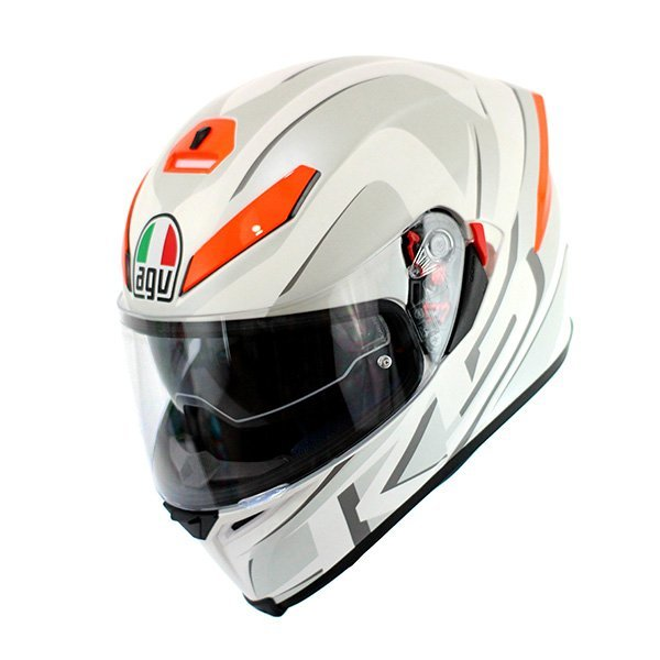 Casco AGV K5 You Blanco Naranjav