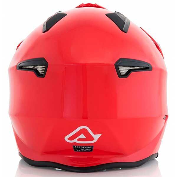 Casco Acerbis Jet Aria Rojo