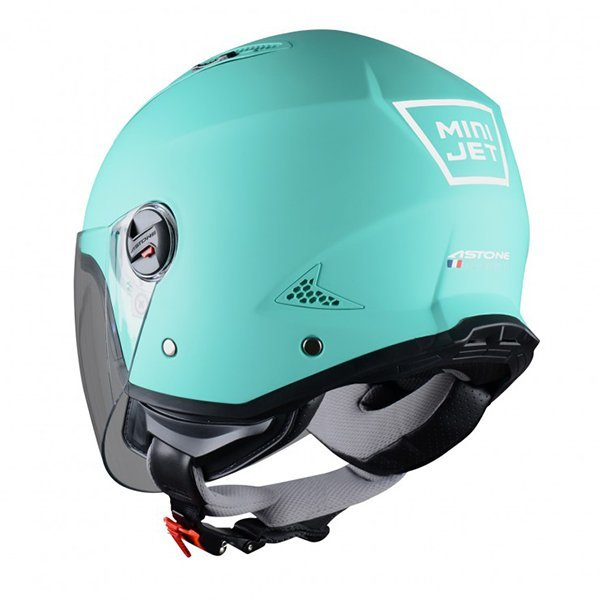Casco Astone Mini Jet Mint Mat1