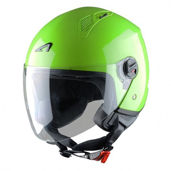 Casco Astone Mini Jet Verde Manzana