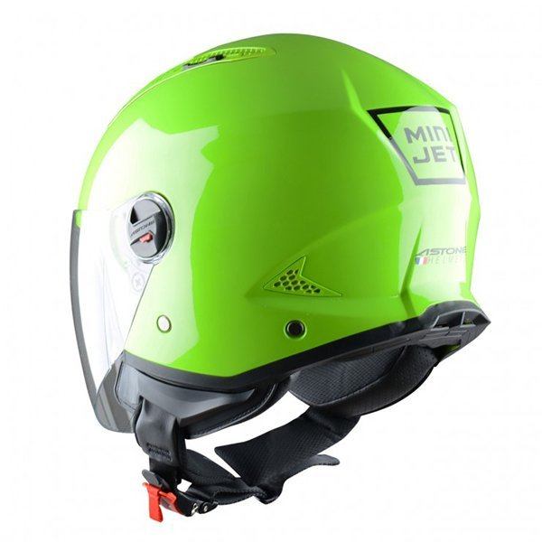Casco Astone Mini Jet Verde Manzana1