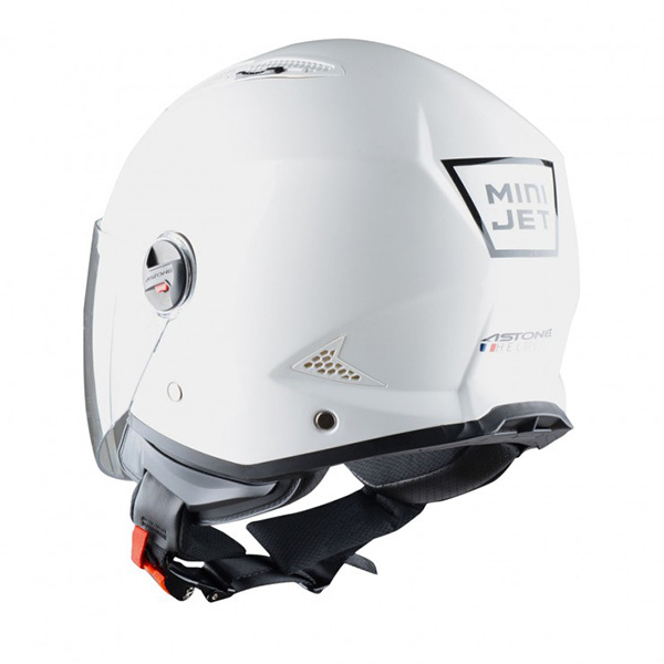Casco Astone MiniJet Blanco Brillo1