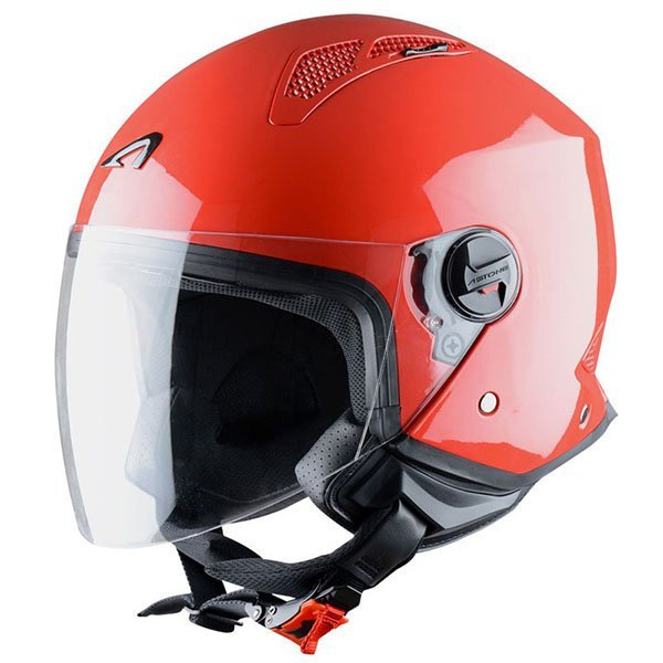 Casco Astone MiniJet Rojo