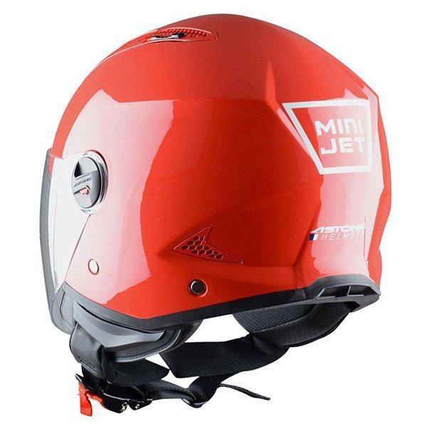 Casco Astone MiniJet Rojo1