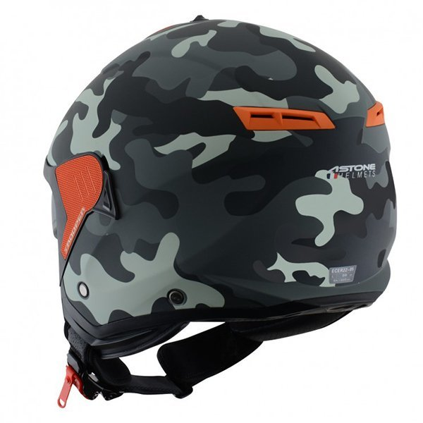 Casco Astone MiniJet S Trooper matt1