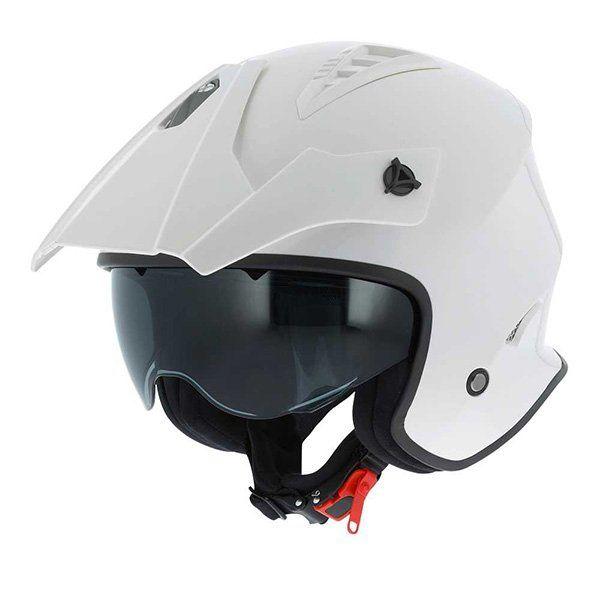 Casco Astone Minicross blanco