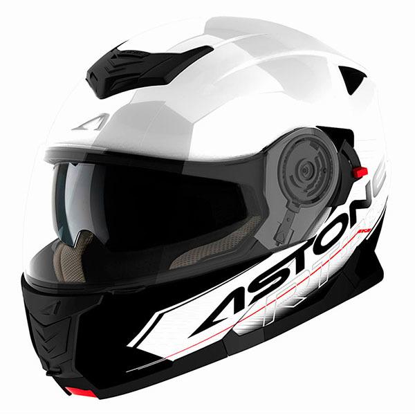 Casco Astone RT1200 Touring Blanco Negro