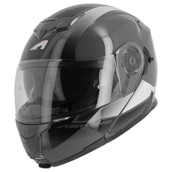 Casco Astone RT1200 Vanguard blanco antracita