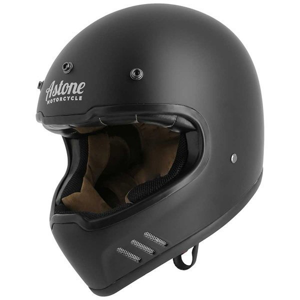 Casco Astone Super Retro negro mate2