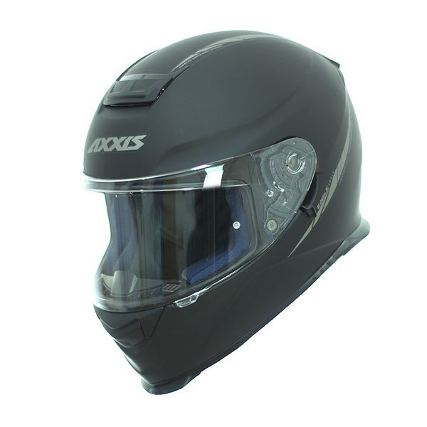 Casco Axxis Eagle SV Solid A1 Negro Mate