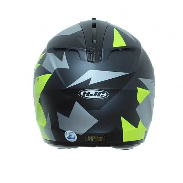 Casco HJC C70 Valon MC4HSF Negro Verde Gris