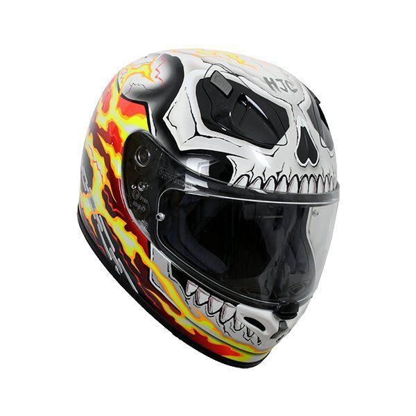 Casco HJC FG-ST Marvel Ghost Rider3