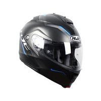 Casco HJC IS-Max II Dova negro azul frontal