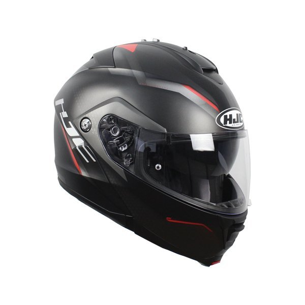 Casco HJC IS-Max II Dova negro rojo1