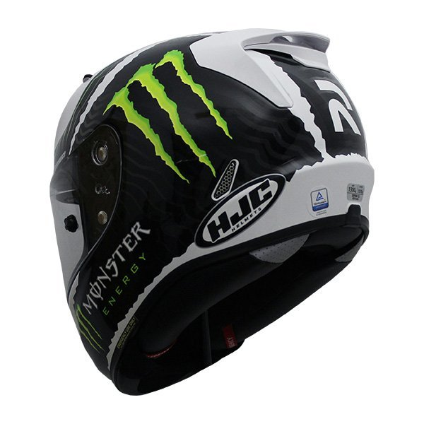 Casco Hjc Rpha 11 Military Sand Monster Blanco