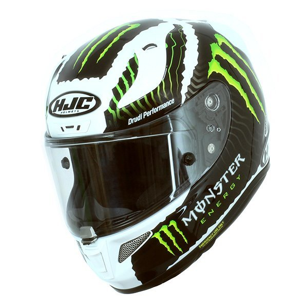 Casco Hjc Rpha 11 Military Sand Monster Blancot