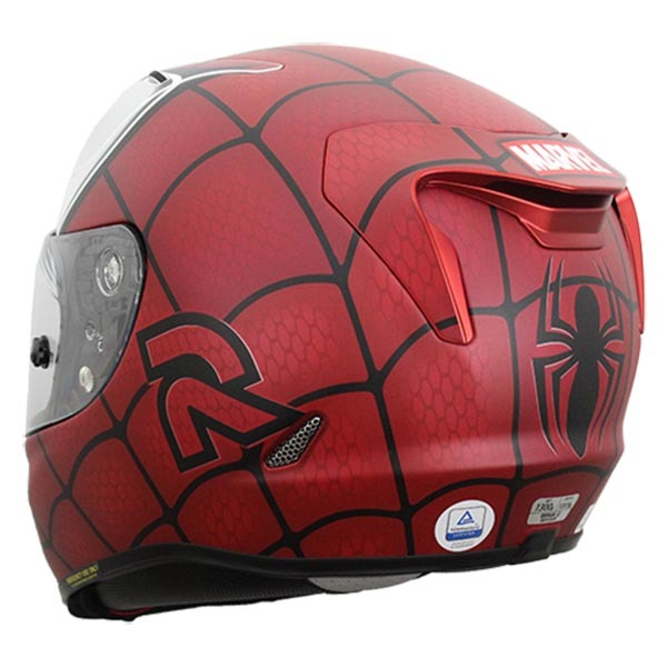 Casco Hjc Rpha 11 Spiderman Trasero