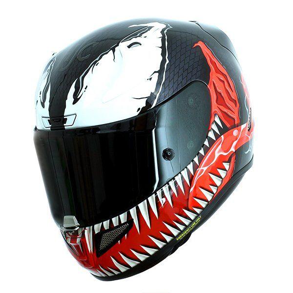 Casco Hjc Rpha 11 Venom Marvel