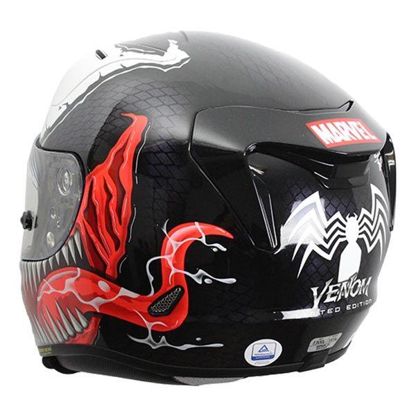 Casco Hjc Rpha 11 Venom Trasero