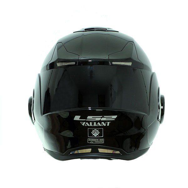 Casco LS2 FF399 Valiant Negro Brillo