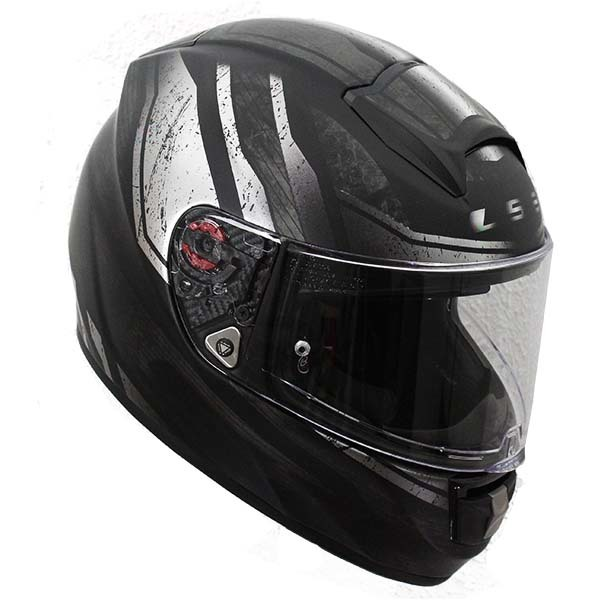 Casco Ls2 Ff397 Vector Ft2 Razor Negro