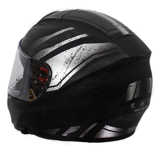 Casco Ls2 Ff397 Vector Ft2 Razor Negro1