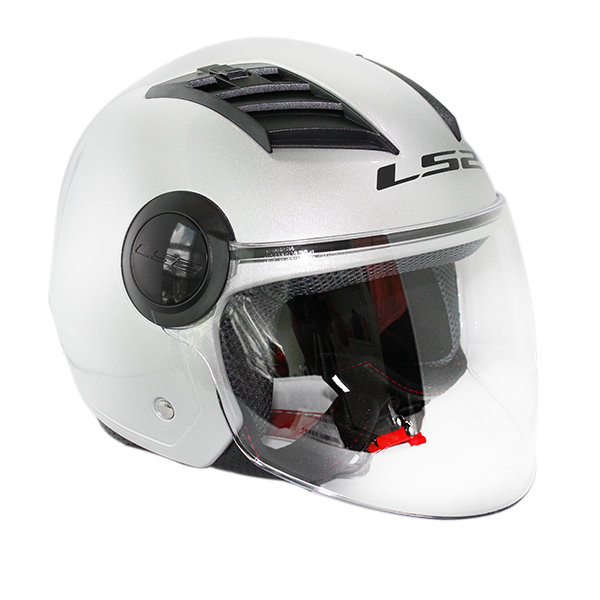 Casco Ls2 OF562 AirFlow Gris Brillo