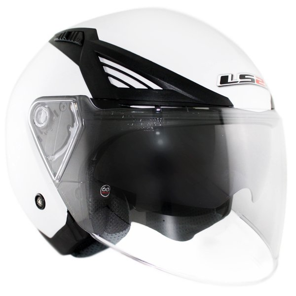 Casco Ls2 OF586 Bishop Blanco