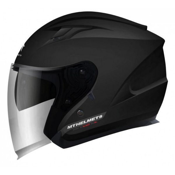 Casco MT Avenue SV Negro Brillo