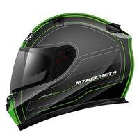 Casco MT Blade SV Raceline Negro Verde