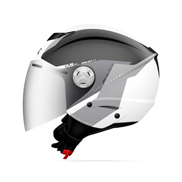 Casco MT City Eleven SV Spark C3 blanco gris