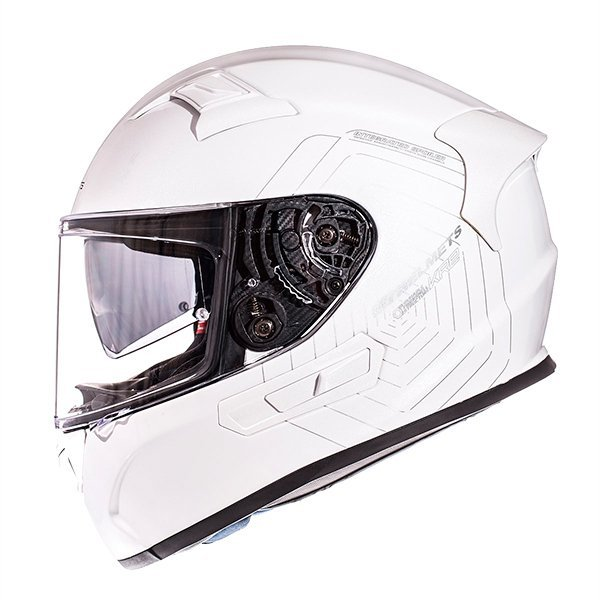 Casco MT KRE SV blanco brillo