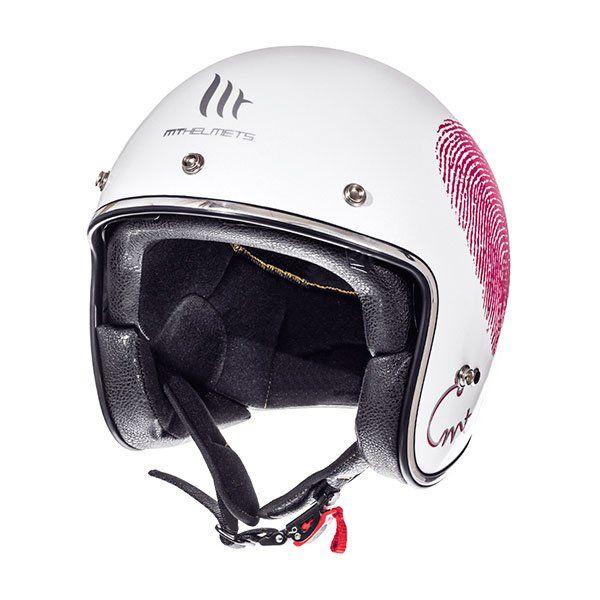 Casco MT Le Mans 2 SV Love A0 Rosa