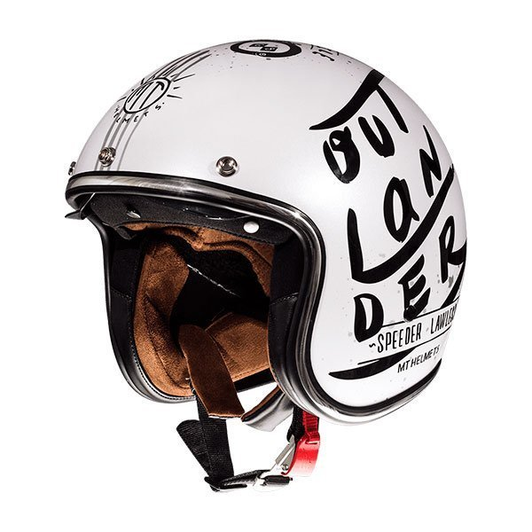 Casco MT Le Mans 2 SV Outlander A1 Blanco