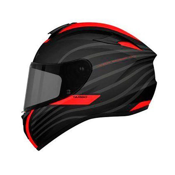 Casco MT Targo Doppler A0 rojo negro