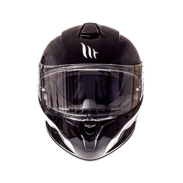 Casco MT Targo Solid A1 negro brillo