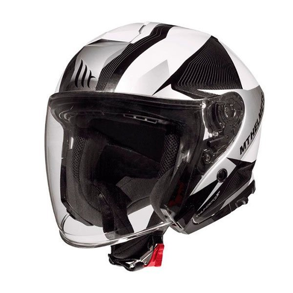 Casco MT Thunder 3 SV Jet Wing A8 Gris