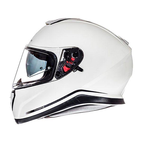 Casco MT Thunder 3 SV Solid blanco perla1